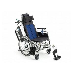 【お買い物マラソン ポイント5倍】ミキ ティルト&リクライニング自走型車いす BAL−11【介助式 リクライニング ティルト 多機能 車椅子 車イス】