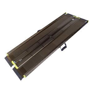アイシン軽金属 軽々スロープ エコノミー 1.45m SL145【車椅子 スロープ 車いす 車イス 段差解消 玄関用 階段用 】
