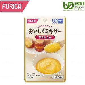 ホリカフーズ FFKおいしくミキサー 芋きんとん【介護食 介護食品 レトルト 区分4 流動食 ミキサー かまなくてよい】