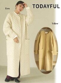 ポイント5倍! TODAYFUL トゥデイフル Quilting Knit Coat 20秋冬.予約 12020012 ニットアウター 20冬受注会 20冬アイテム 2020冬商品