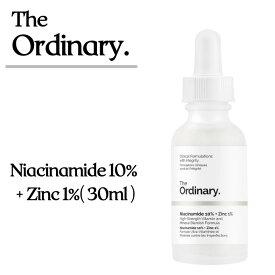 『The Ordinary』ジオーディナリー ナイアシンアミド10%+亜鉛1%(30ml)Niacinamide 10%+Zinc 1%(30ml) 美容液 植物由来成分 DECIEM デジコム サリチル酸 ニキビ跡 ターンオーバー ordinary オーディナリー