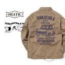ジャケットメンズ ブランド コーチジャケット ハコスカ コラボ 高品質 大人 定番 アメカジ ビンテージ 40年代 50年代 …