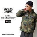 ミリタリー シンサレート ジャケット 高性能 レベル7 LEVEL7 高品質 迷彩 中綿 シンプル ソロキャンプ 防寒 アウター …