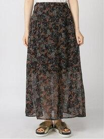 【SALE/60%OFF】アソートガラLSK Heather ヘザー スカート フレアスカート ブラック ホワイト ベージュ【RBA_E】[Rakuten Fashion]