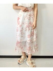 【SALE/70%OFF】タイダイLSK Heather ヘザー スカート フレアスカート ピンク ブルー ベージュ【RBA_E】[Rakuten Fashion]