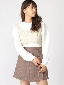 [Rakuten Fashion]【SALE/64%OFF】アソートビスチェSETTシャツ Heather ヘザー カットソー アンサンブル/ツインセット ベージュ イエロー グレー【RBA_E】