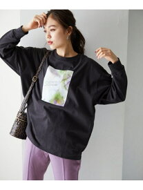 [Rakuten Fashion]【SALE/66%OFF】キラキラフォトロンT Heather ヘザー カットソー Tシャツ ブラック ベージュ レッド【RBA_E】