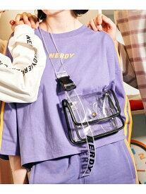 [Rakuten Fashion]【SALE/60%OFF】NERDY/NERDY×Heather BODYBAG NERDY ヘザー バッグ ショルダーバッグ ブラック【RBA_E】