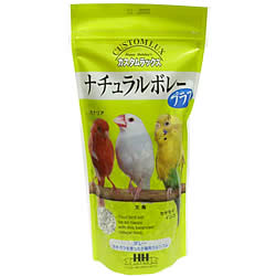 ナチュラルボレープラス/補助食品 ボレー粉 ボレ粉 カキ殻 カルシウム ビタミン 小鳥 インコ 文鳥 HH カスタムラックス CUSTOMLUX
