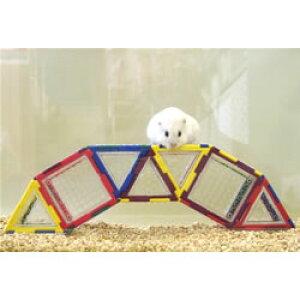 トイビルダー 6030D/おもちゃ ブロック 組立て プレート 遊び場 トンネル お家 ハウス 小動物 ハムスター ジャンガリアン ゴールデン