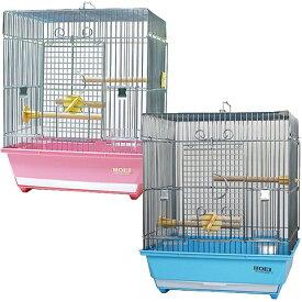 101角手乗り/鳥カゴ 鳥籠 鳥かご バードケージ 鳥小屋 小鳥 文鳥 ケージ ゲージ 鳥かごピンク 鳥かごブルー