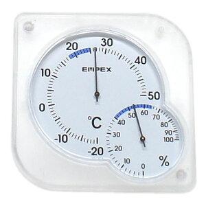 シュクレ・ミディ(温度計湿度計)/温度計 湿度計 飼育用 温湿度 スタンド付き 小動物 うさぎ ハムスター 小鳥 爬虫類 両生類 カメ
