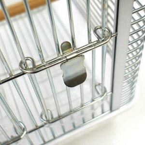脱走防止鍵 ラッキー/ドアロック バードケージ ゲージ 鳥カゴ 小鳥 HOEI