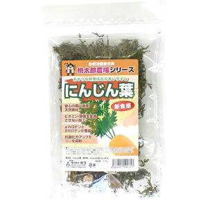 桃太郎農場 にんじん葉/うさぎ モルモット チンチラ デグー 補助食 野菜 人参 ニンジン