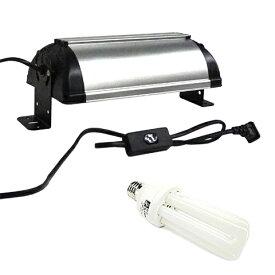 バードシステムズ コンパクトランプユニット&専用球セット/小鳥用日光浴ライト 紫外線 UVB オカメインコ セキセイインコ