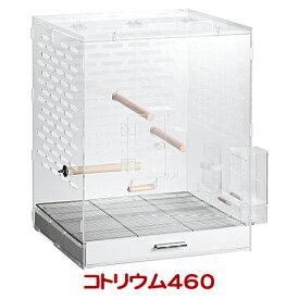 コトリウム460/バードケージ ゲージ 鳥カゴ クリア アクリル 透明 小鳥 セキセイインコ オカメインコ GEX