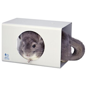 涼感キューブ L/小動物用アルミ製ハウス ひんやり 暑さ対策 チンチラ デグー SANKO WILD 三晃商会