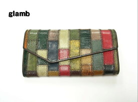 9405bac0df4d 中古 【glamb Rudy long wallet 財布 グラム ロング ウォレット】【中古】
