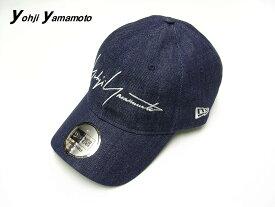 人気 INDIGO【Yohji Yamamoto x NEW ERA 19SS 9THIRTY DENIM YY CAP ヨウジヤマモト x ニューエラ デニム キャップ インディゴデニム 2019ss 新作 HH-H55-060-1A3 クロスストラップ】