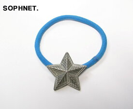 SAX 【SOPHNET. ヘアゴム(スターモチーフ)星 ブレスレット CONCHO BRACELET】【中古】