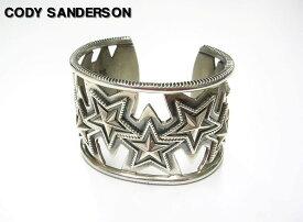M【CODY SANDERSON [コディーサンダーソン] Cut Out Opposing Star バングル】【中古】
