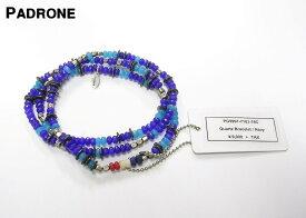 Navy【PADRONE x amp japan Quartz Bracelet パドローネ x アンプ ジャパン ブレスレット ネックレス アンクレット】PG9997-7103-16C