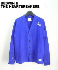 2 【BEDWIN & THE HEARTBREAKERS ベドウィン LETTERED CARDIGAN カーディガン】