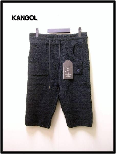M 黒【KANGOL カンゴール moko-nobi shorts モコノビショーツ ハーフパンツ】KASM-0002【新品】