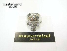 21 新品【mastermind JAPAN [マスターマインド ジャパン] SILVER SKULL RING シルバースカルリング】