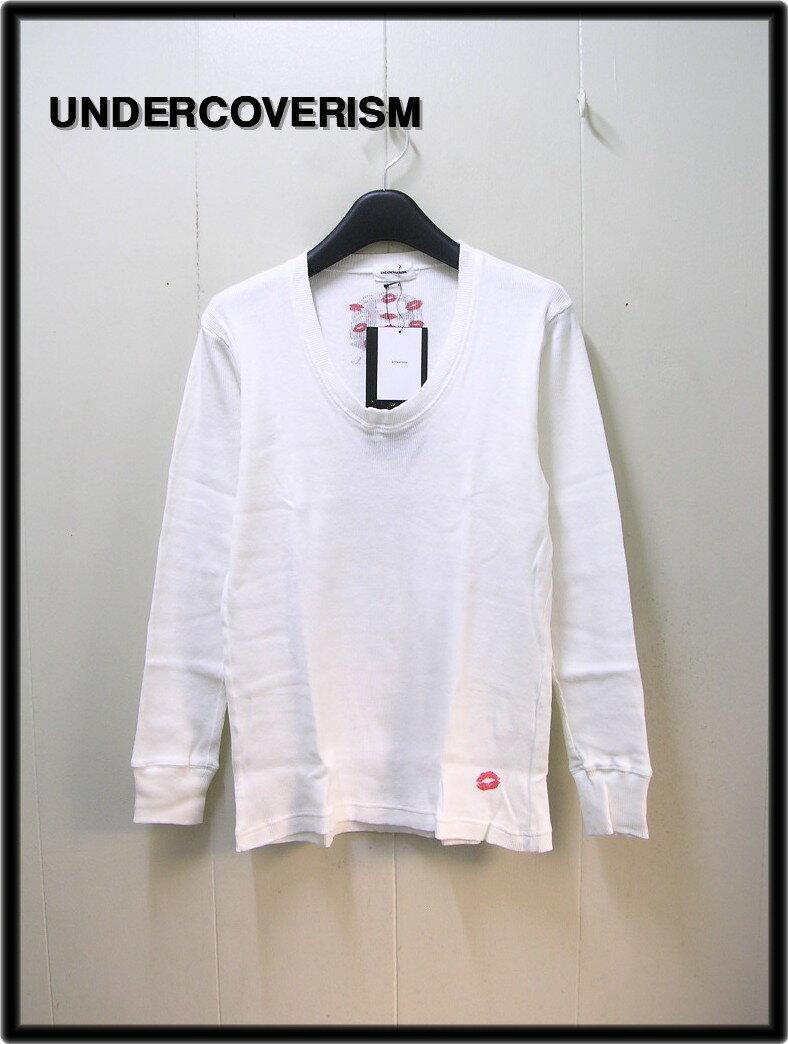 2 【UNDERCOVERISM [アンダーカバーイズム] キスマークカットソー ロンtシャツ】H4813-1【中古】