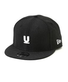 再入荷 1番人気 C.BLACK【UNDERCOVER x NEW ERA U LOGO 9FIFTY CAP Under Cover アンダーカバー x ニューエラ Uロゴキャップ ヘッドウェア 帽子 黒 ブラック】