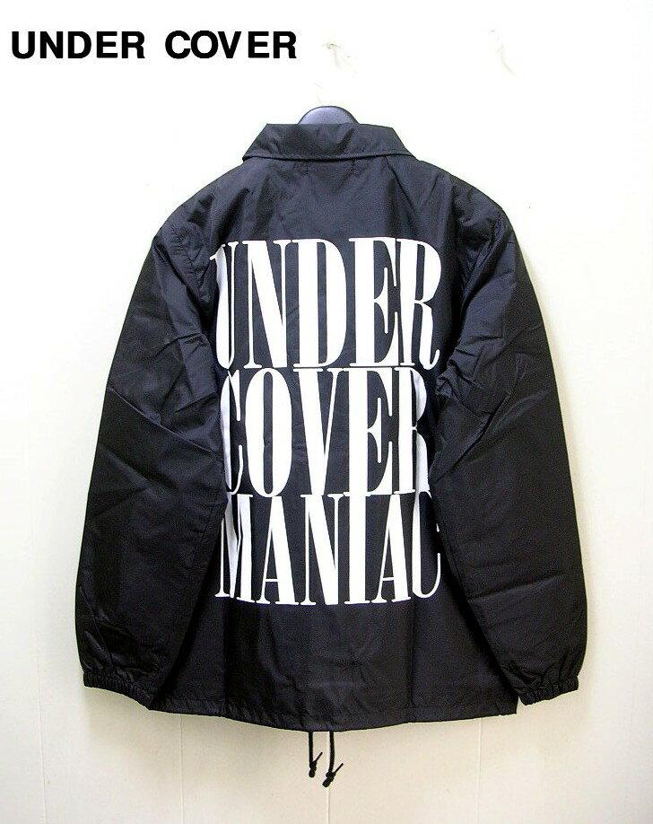 人気 M 黒 C.BLACK【アンダーカバー MADSTORE限定 UNDERCOVER コーチジャケット MANIAC】