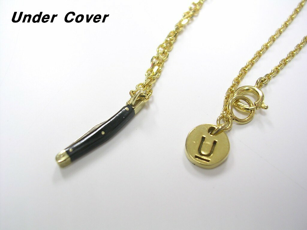 C.GOLD【Undercover Pendant Necklace UCU4N02 Unparalleled Gold アンダーカバー ネックレス Silver925 シルバー925】【中古】