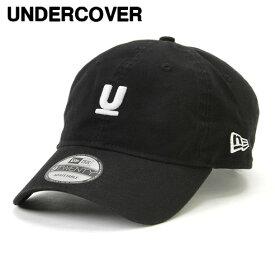 再入荷 人気 C.BLACK【UNDERCOVER x NEW ERA U LOGO 9TWENTY CAP アンダーカバー ニューエラコラボ Uロゴ キャップ 黒 ブラック】