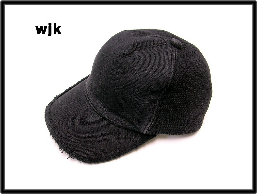 【wjk DARK BB CAP キャップ】8115 wj53h【中古】