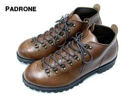 41 (26〜26,5cm) D.BROWN 【PADRONE SHORT TREKKING BOOTS with SIDE ZIP BENITO パドローネ ショートトラッキングブーツ サイドジップビブラムソール】PU7358-1224-16C ダークブラウン