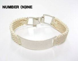 SALE 白 WHITE【NUMBER (N)INE [ナンバーナイン] メタルブレスレット】S08-NA001【新品】