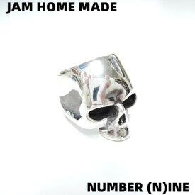 #18 ¥31,500【JAM HOME MADE x NUMBER (N)INE ジャムホームメイド x ナンバーナイン スカルリング ドクロ シルバーリング 指輪 SILVER925】