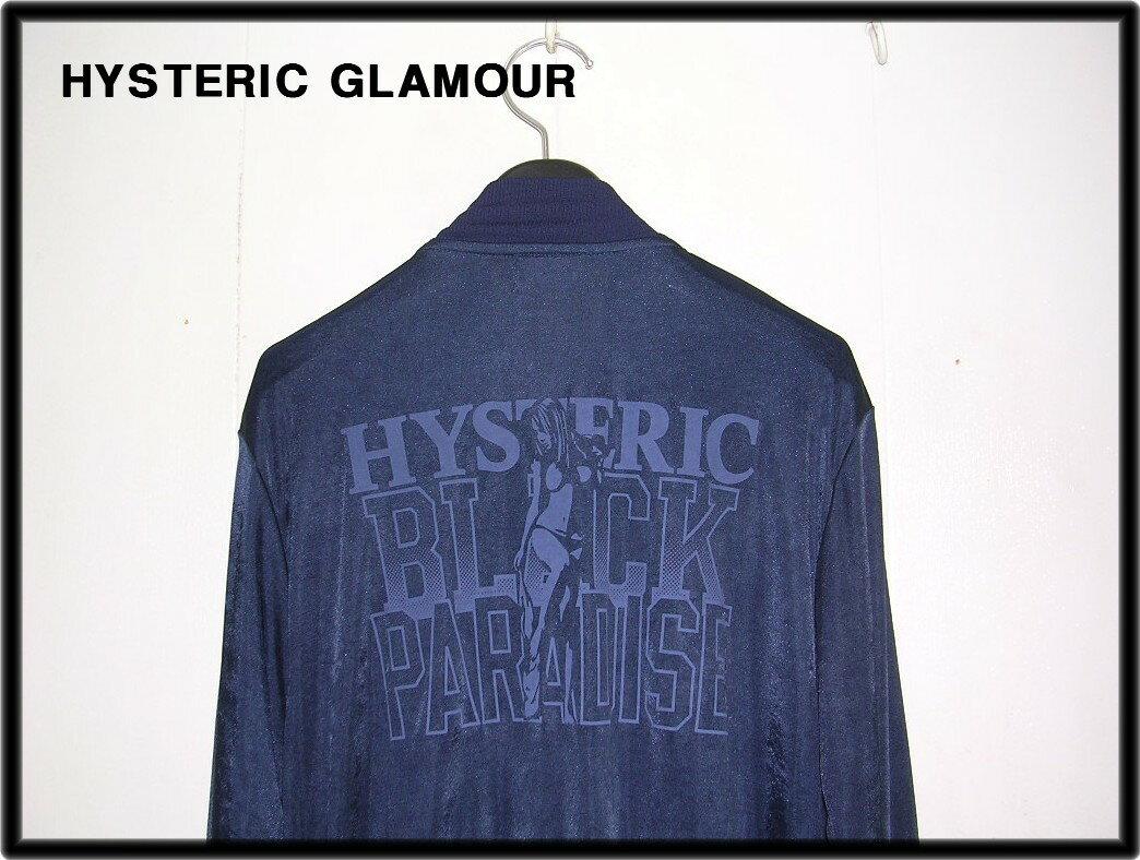M【HYSTERIC GLAMOUR ヒステリックグラマー ジャケット ブルゾン】No. 0261CJ02【中古】