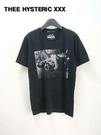 M 黒 【HYSTERIC GLAMOUR XXX ヒステリックグラマー DAM/GREATEST SHOW IN DTR pt Tシャツ】0624CT07396