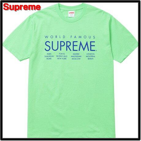 L 15SS Pale Acid 【Supreme [シュプリーム] International Tee インターナショナルTシャツ】