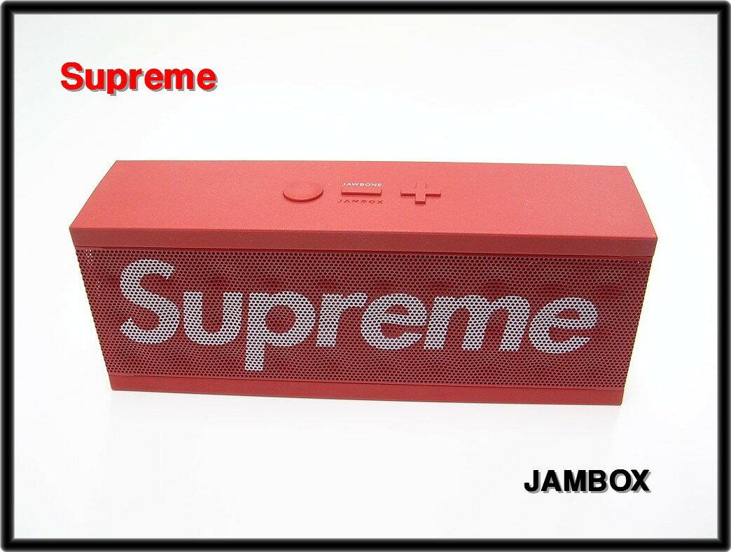 Red【Supreme [シュプリーム] by JAWBONE JAMBOX box logo S SPEAKER スピーカー】【中古】