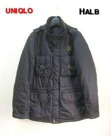 M BLACK【UNIQLO ユニクロ x HALB ハルプ ジャケット】316-051248 (74-01)