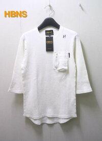 S 【HABANOS 7分袖カットソー】A13-WF02