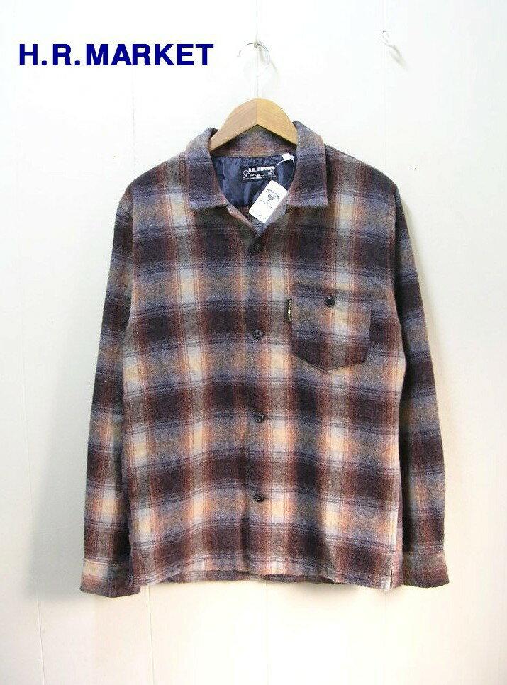 L 【H.R.MARKET ハリウッドランチマーケット チェックシャツ】700023-004 ST1352