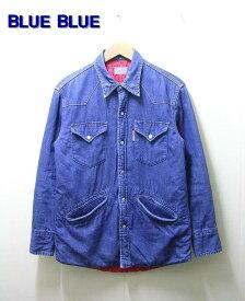 1(S) 【BLUE BLUE [ブルー ブルー] キルトライニングユーズドデニムシャツ ジャケット】【中古】