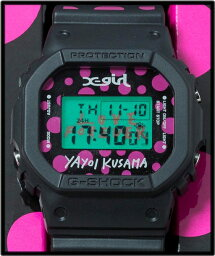 [X-girl(X女孩子)[X-girl x草間彌純樸的x G-SHOCK]KUSAMA YAYOI DW-5600 G打擊水滴點手錶]
