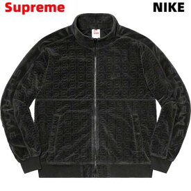 XL 国内正規品【Supreme Nike Velour Track Jacket Black シュプリーム ナイキ ベロア トラック ジャケット ヴェロア 黒 ブラック 2021ss】