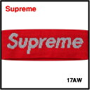 Red【Supreme x New Era 17AW Reflective Logo Headband シュプリーム x ニューエラ リフレクターロゴ ヘッドバ...