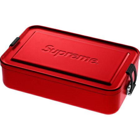 Red 18ss【Supreme SIGG Large Metal Box Plus シュプリーム ラージ メタルボックス メタルケース 赤 レッド】